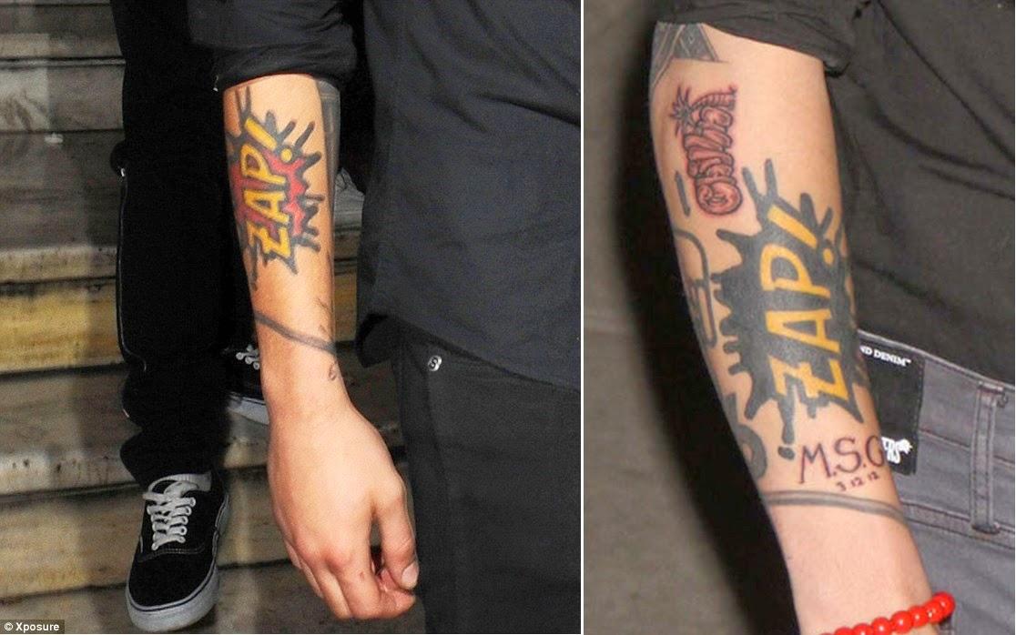 Oficjalny Polski Blog O One Direction Tatuaże Chłopców