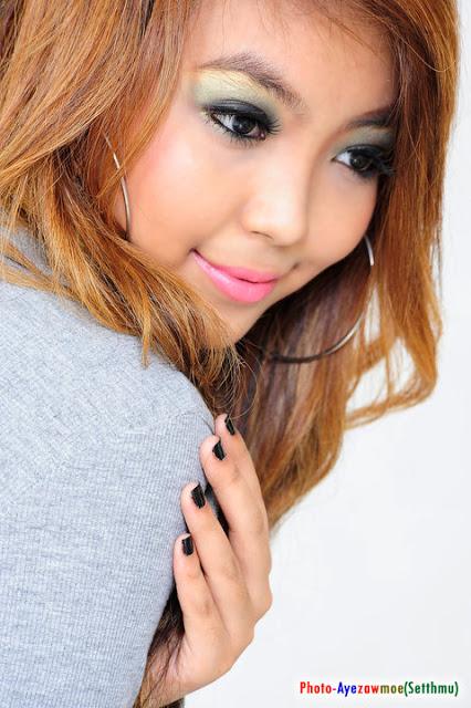 Nandi Htut Swe - Myanmar Model Girls