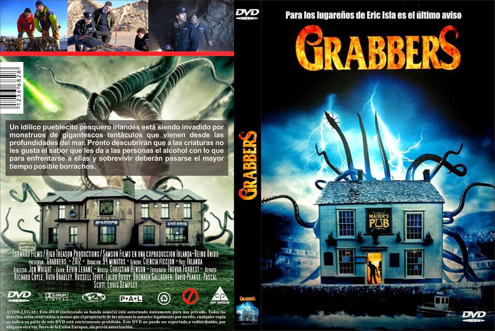 Grabbers DVD