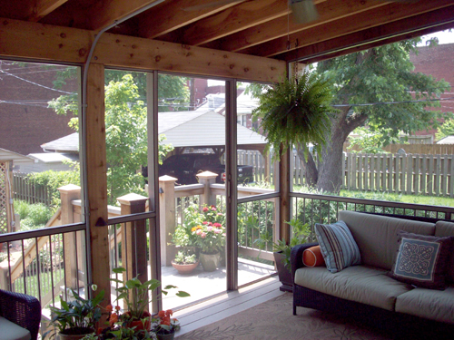Backyard Room Additions : Heartlands Building Company Accessorizing Your Outdoor Room Addition
