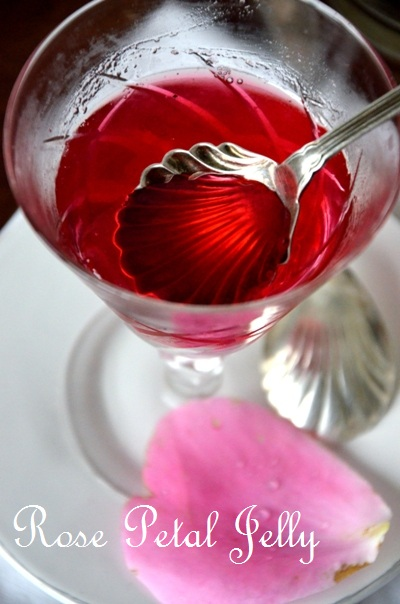 how to make rose petal jelly