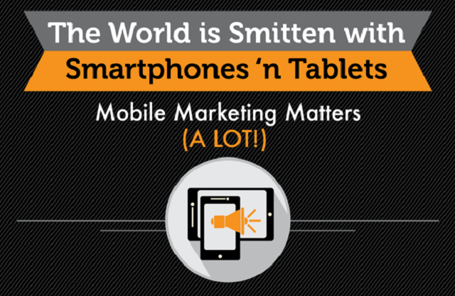 The World Is Smitten With cell phones And Tablets: Mobile Marketing Matters A Lot - #socialmedia