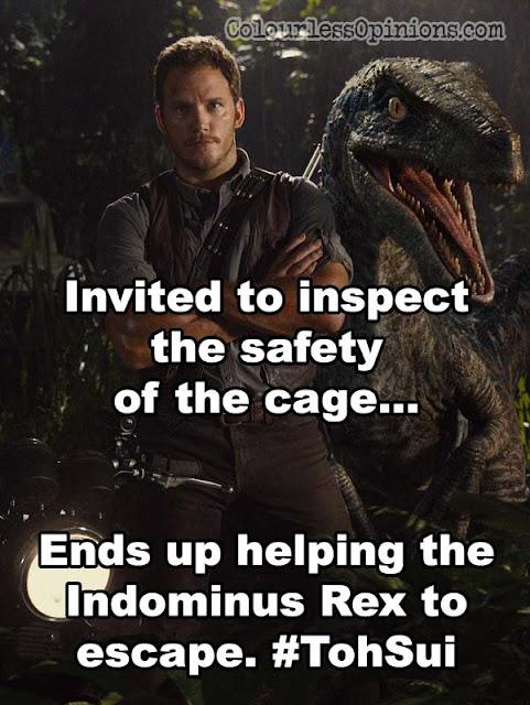 Jurassic World meme owen pratt