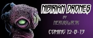 Nibirian Drones resin mini figure series by Nerviswrek