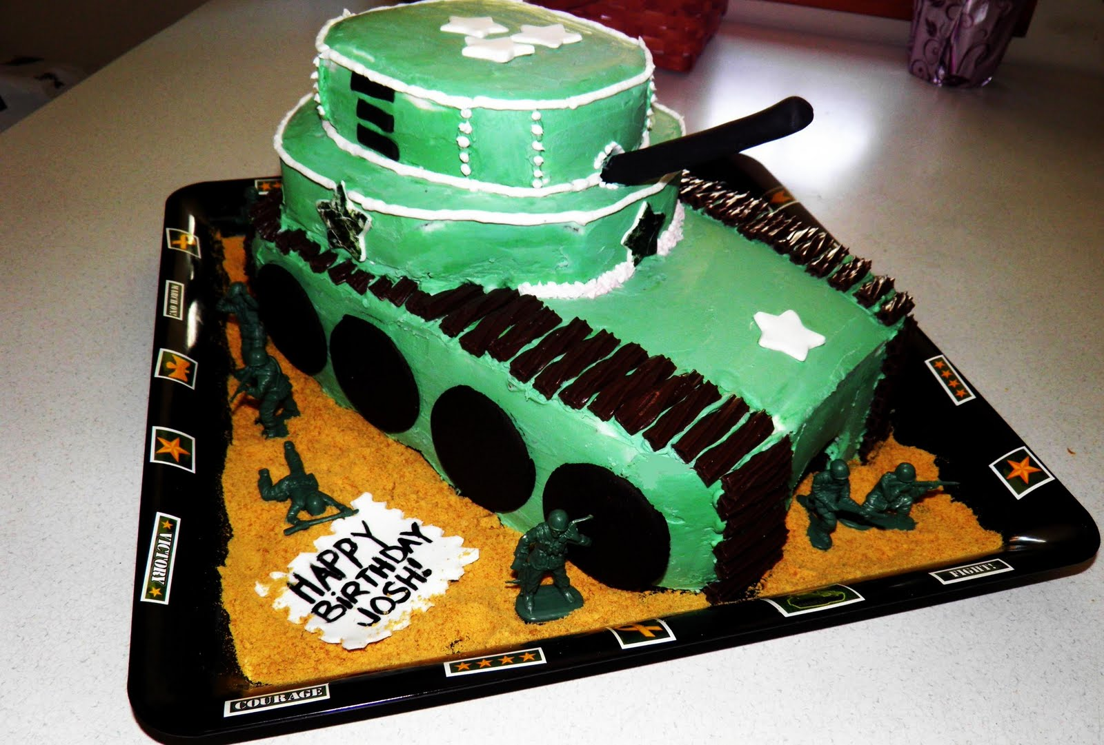 Easy+Army+Birthday+Cake Easy Army Birthday Cake http://pic2fly.com ...