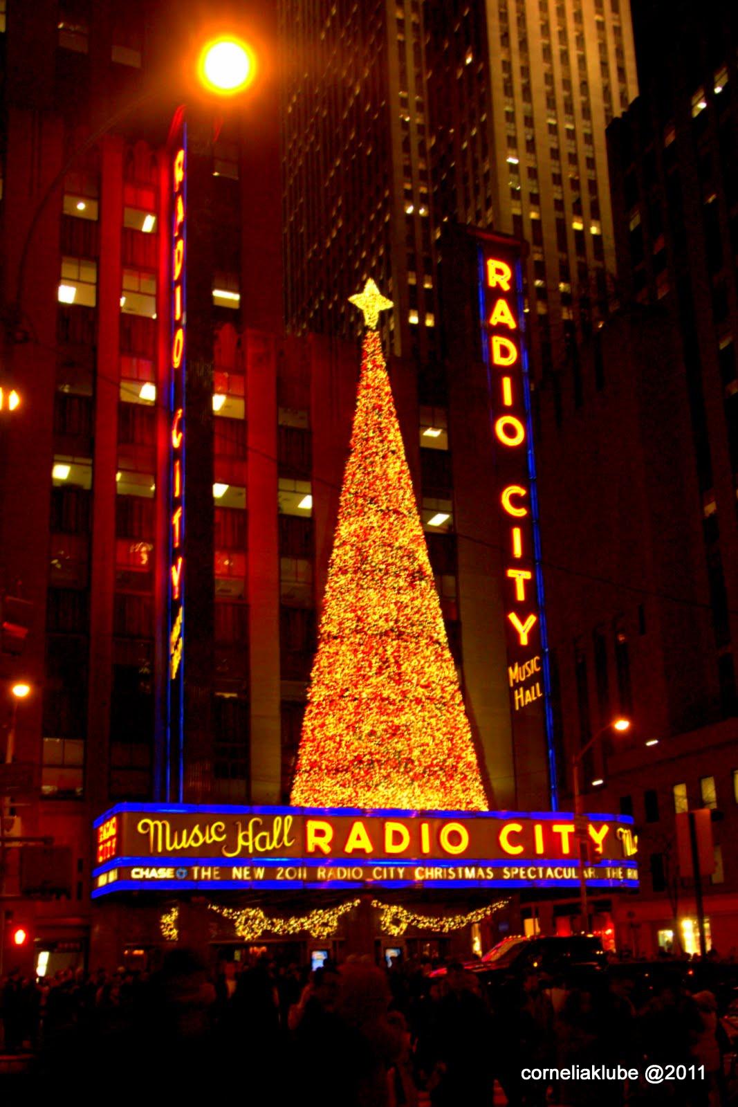 Genickstarre NYC: ...und immer noch Vorweihnachtsstimmung in New York
