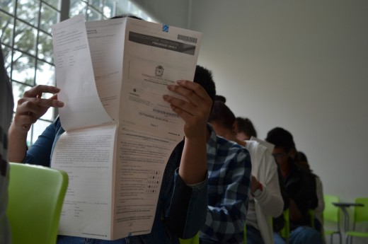 Prueba de admision UNAL