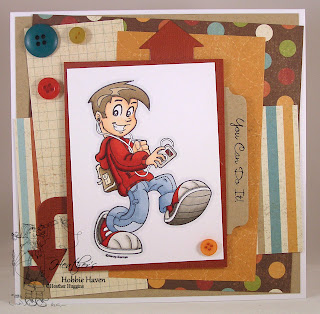 Heather's Hobbie Haven - Cool Kid Card Kit