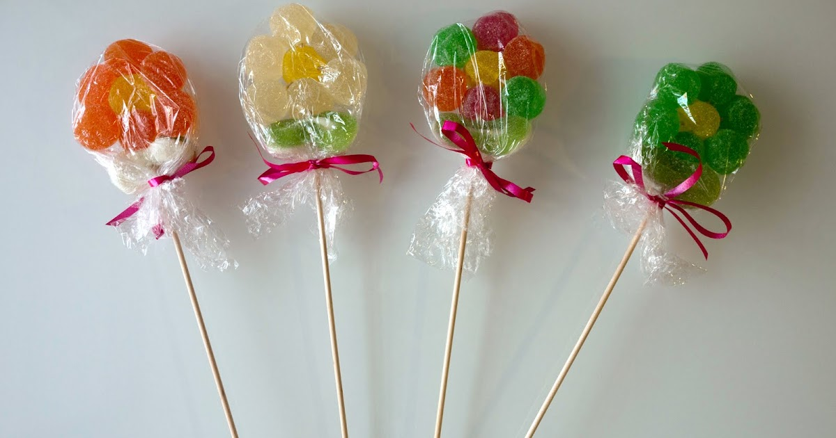 No sin mis hijos c mo hacer flores de gominolas para una - Mesa de navidad decorada ...