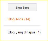 menambah blog baru dengan akun google yang sama