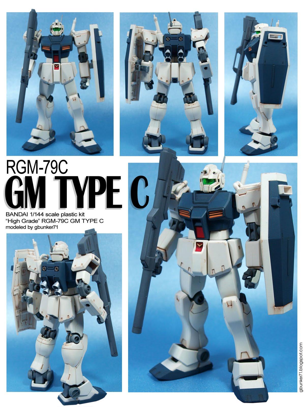 G-BUNKER 71: RGM-79/Type C/FP