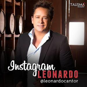 Instagram oficial do cantor Leonardo