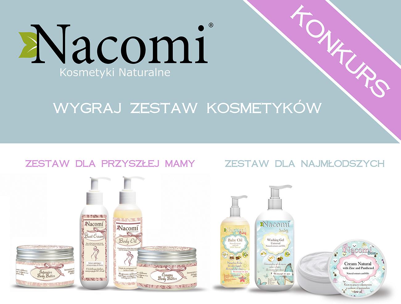 Sierpniowy konkurs blogowy razem z firmą NACOMI
