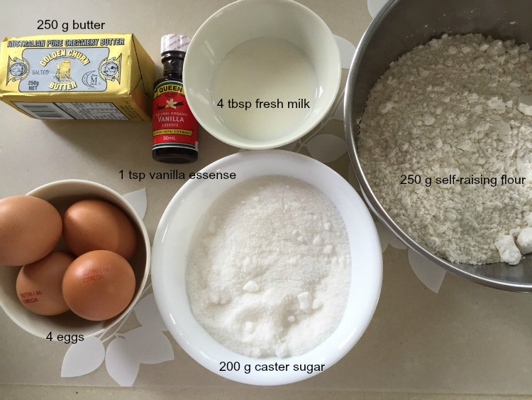 Golden Butter Cake A Step By Step Pictorial Guide