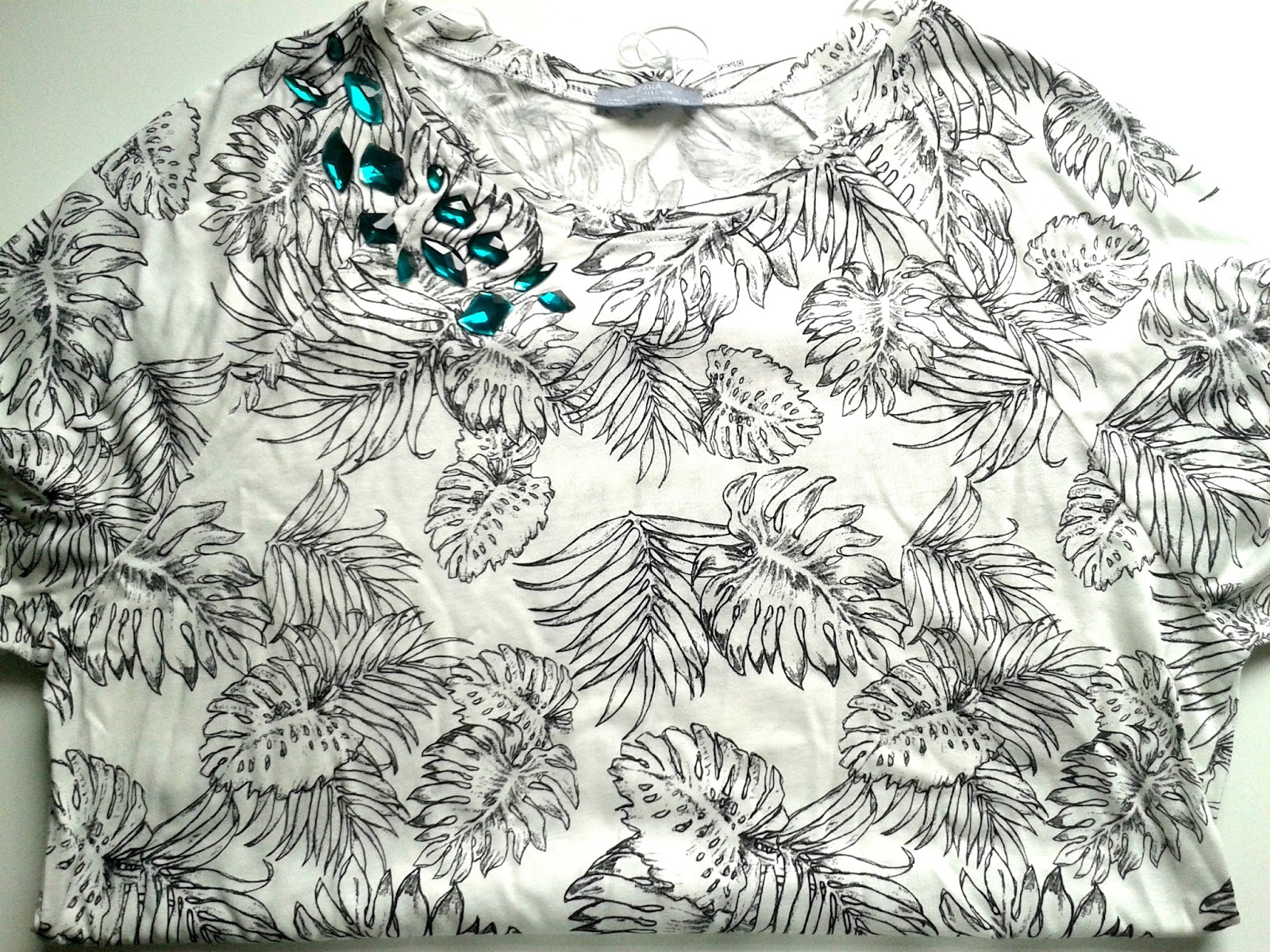 Zara Printed T-Shirt With Appliques Sale Haul