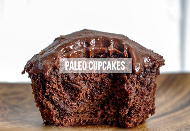 Paleo Chocolate Cupcake