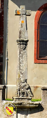 Croix de l'église de Fréménil (1705)