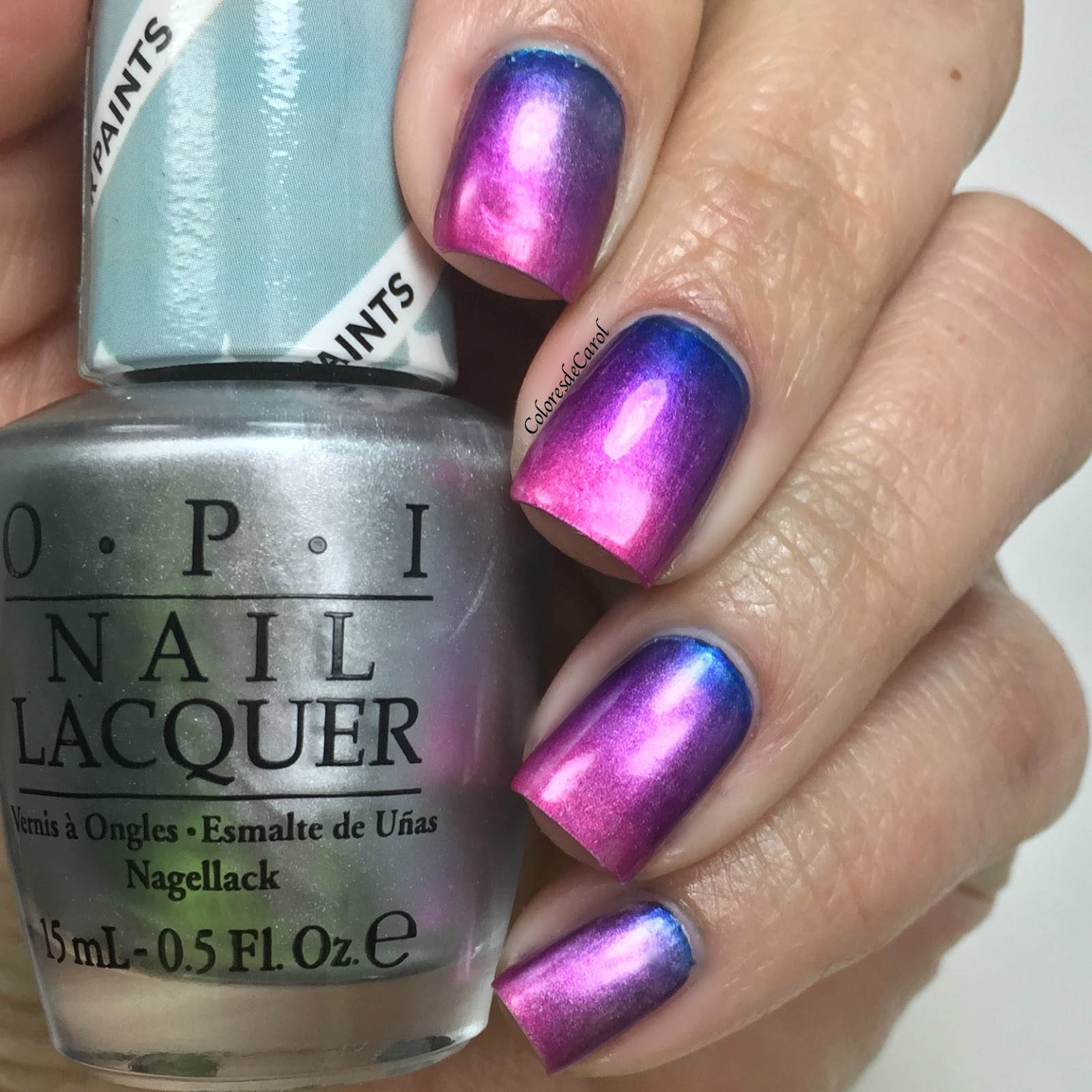 Colores de Carol: OPI - Color Paints Gradient