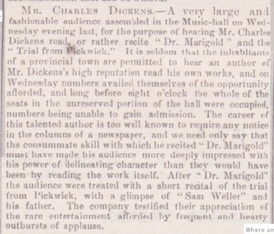 the early middle and late life of charles dickens Chapter 1 charles dickens was a public man and a famous man, and he assumed both of these slightly different roles in his early twenties his first sketch, a dinner at poplar walk, was published in the monthly magazine in december 1833.