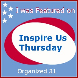 http://organized31.com/2014/08/inspire-us-thursday-link-party-65.html