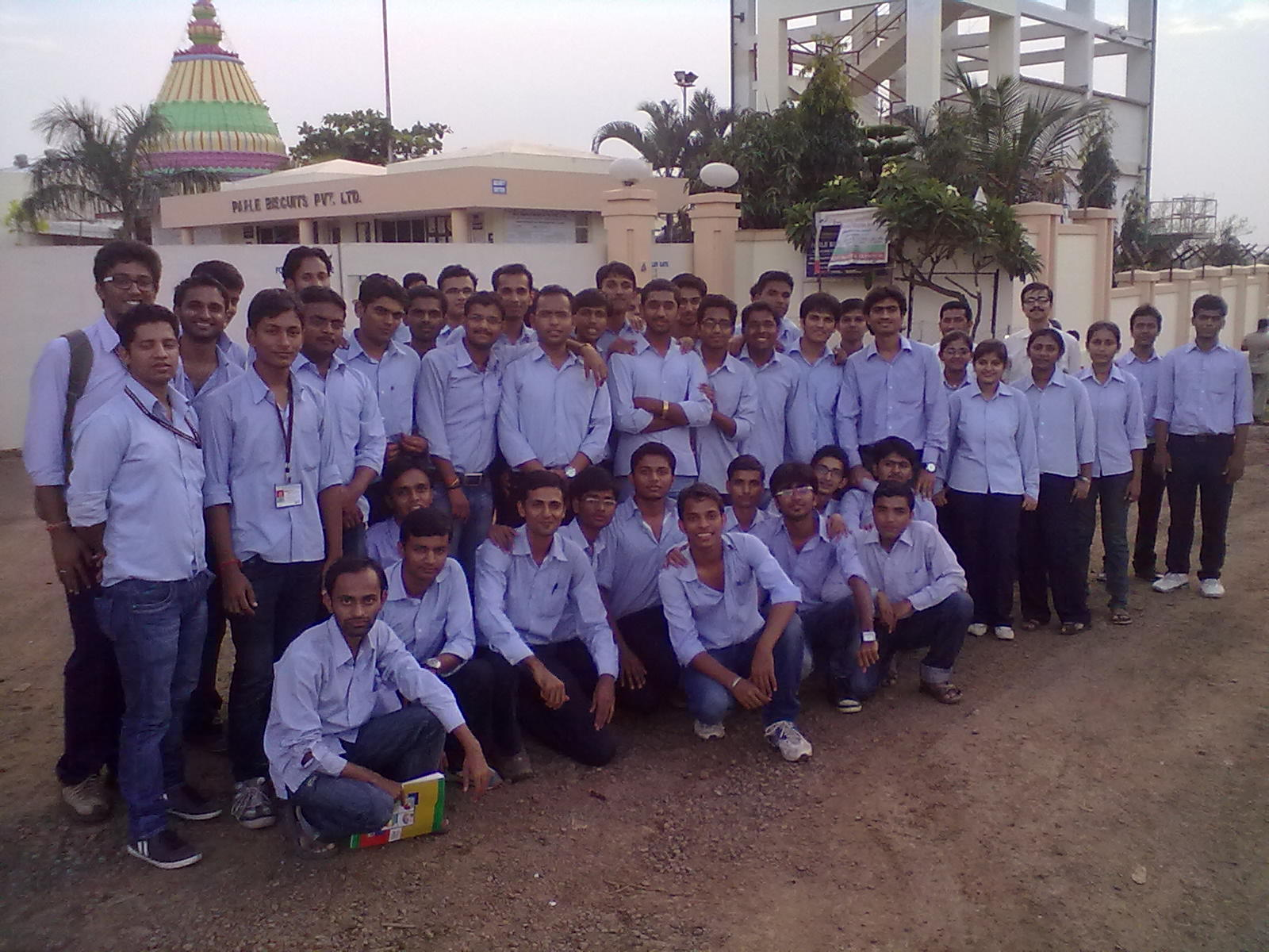 industrial visit on parle Dated 24-01-2015 aissms-institute of management (mba) placement cell has organized industrial visit for mba i year students at parle biscuits pvt ltd, khopoli on.