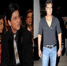 Vishal Bharadwaj chooses Ajay over Shahrukh
