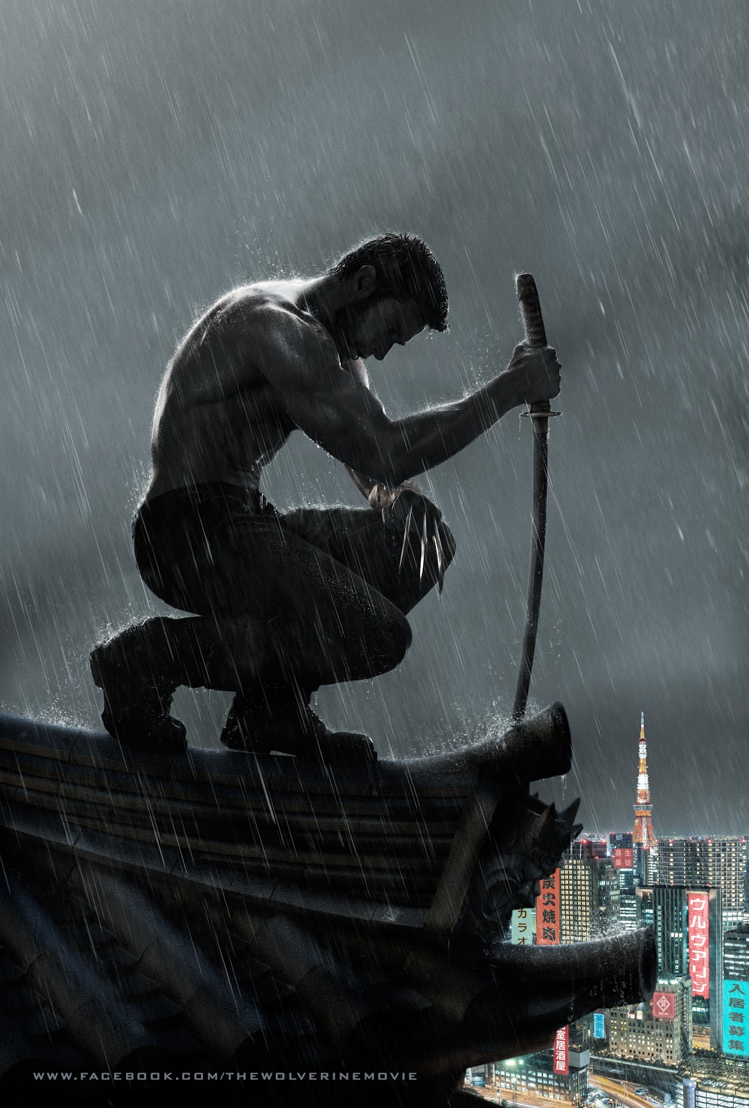 The Wolverine - New Poster-  Increíble - Awesome