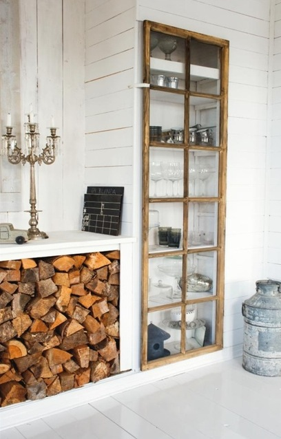 Fireplace Storage Ideas Converting A Disused Fireplace