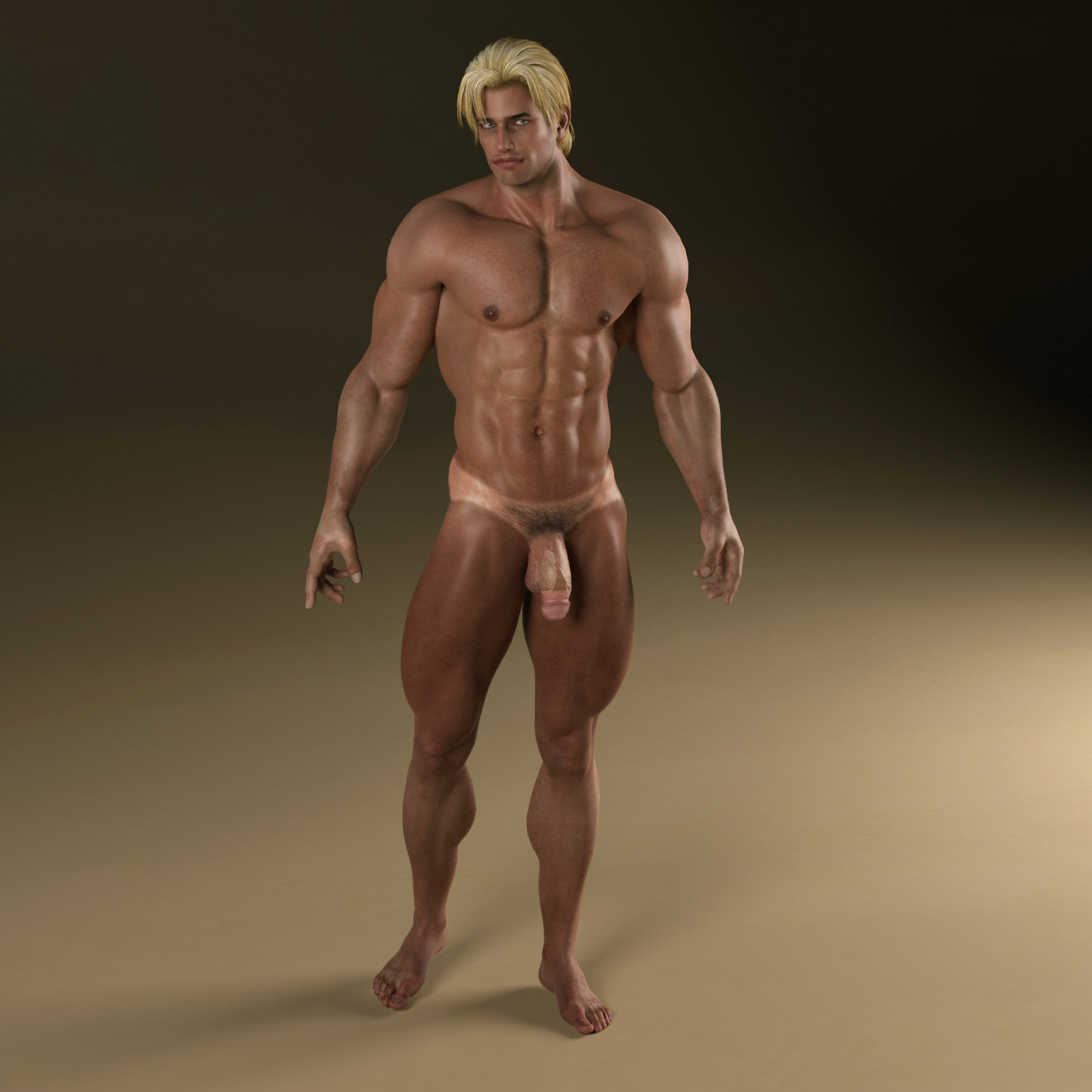 Daz3d male nude hentai picture