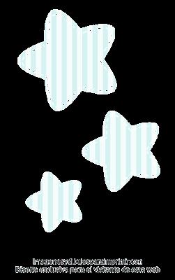 Estrellas para baby shower