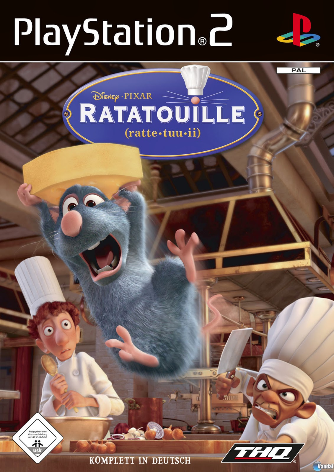 Ratatouille Ps2 Iso Ntsc Juegos Para PlayStation 2