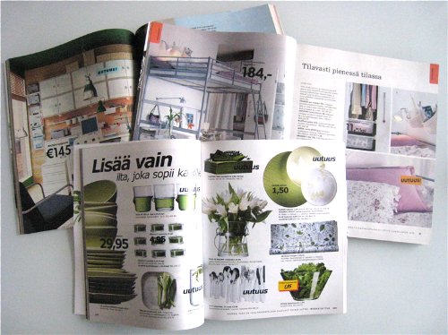 Designfriikki IKEA uudistaa kuvastoaan