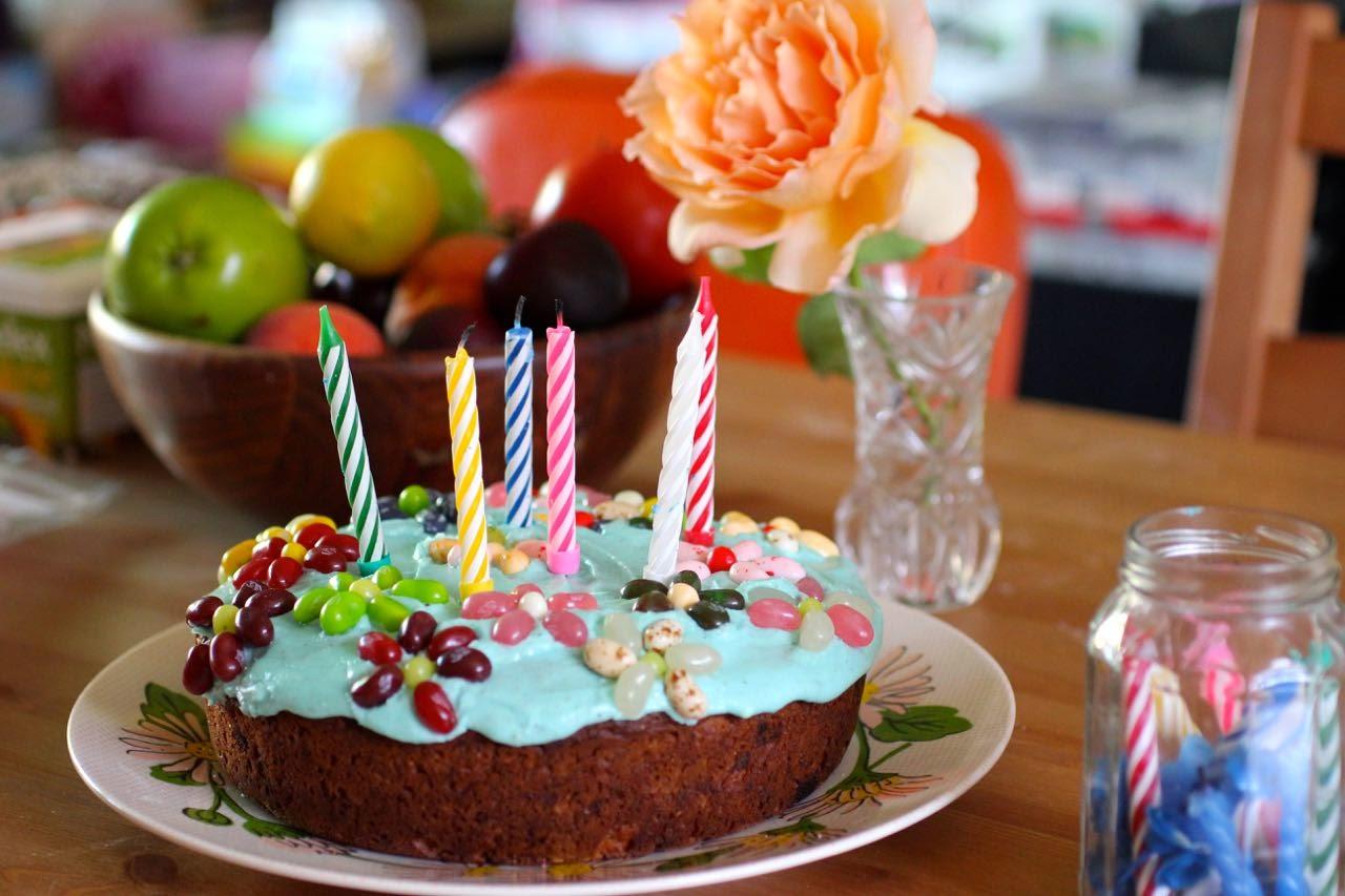 Green Gourmet Giraffe Simple Birthday Cakes Rainbow Cupcakes