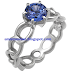 Blue Sapphire Engagement Rings 23