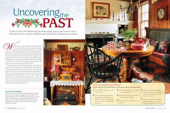 My Home in Country Sampler Magazine