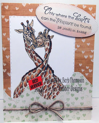 Treasure Found Cling Mount Rubber Stamp Set from Red Rubber Designs