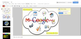 Prezentacja tworzona w narzędziach google dysk