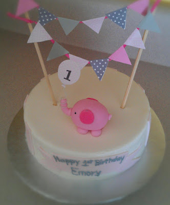 Cake Decorating Classes Near Charlotte Nc : Cakes By Diana in Charlotte NC,: Pink elephant cake
