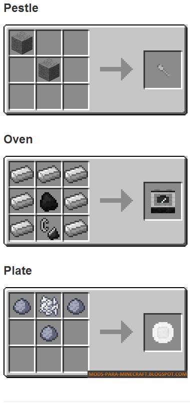 Crafteos 3 - The Kitchen Mod para Minecraft 1.7.2/1.7.10