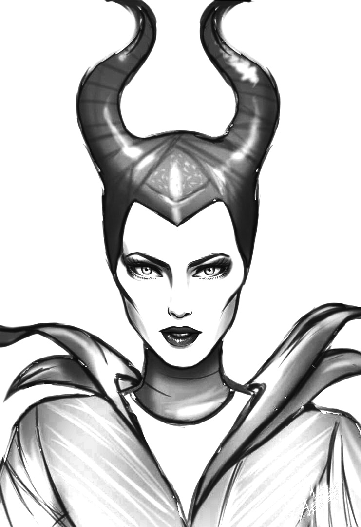 Maleficent coloring pages Coloring Pages