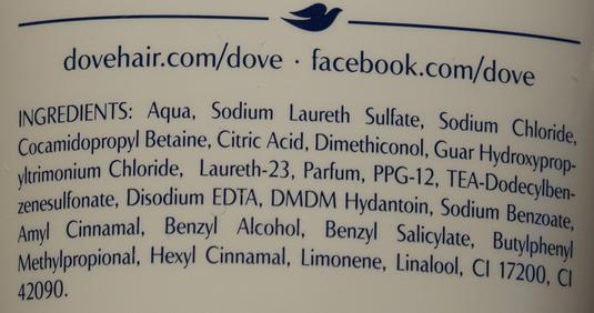 Dove, Advanced Hair Series, Oxygen & Moisture, Szampon do włosów skład