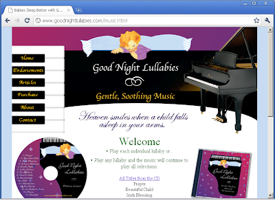 Click to visit Good Night Lullabies' site.