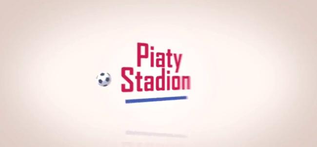 """Ekran początkowy serialu """"Piąty stadion"""""""