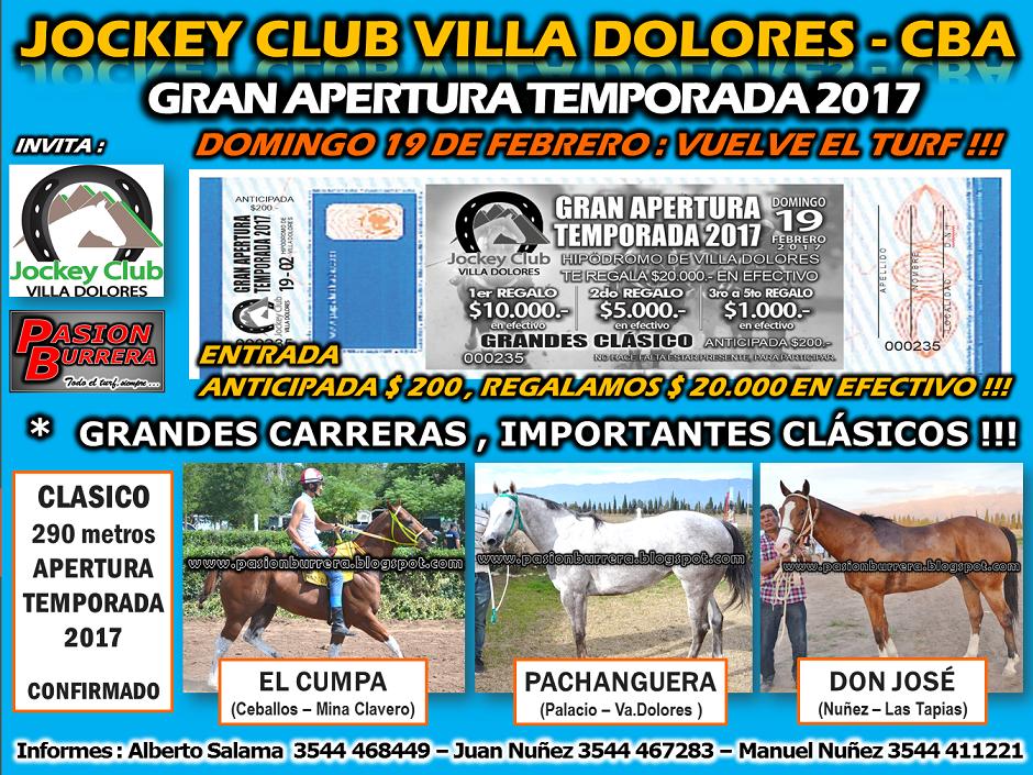 VILLA DOLORES 19 - CLASICO 3