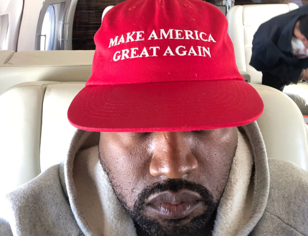 KANYE WEST CHANGES HIS NAME.
