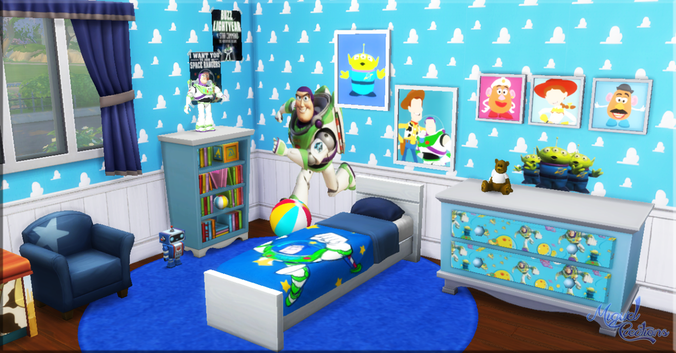 Miguel Creations TS4 Bedroom Toy Story