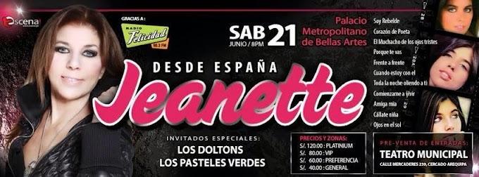 Jeanette en Arequipa - 21 de junio