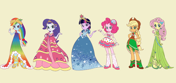 My Little Pony Equestria Girls Dresses