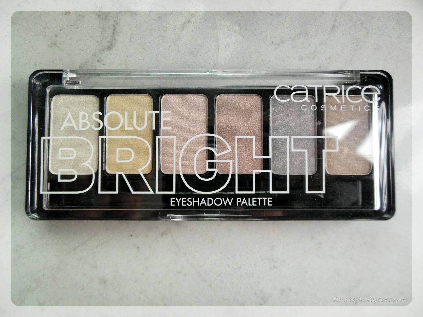 Catrice –Absolute Bright, czyli paleta absolutnie nieciekawa