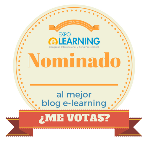 "Nominado ""Mejor Blog e-Learning"""